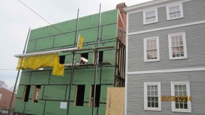 Some neighbors worried that condo project was taller than the original 1804 federal house
