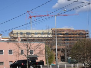 Unlike Savannah, which says it tightened zoning standards in the down economy, some complain that Portsmouth relaxed standards, resulting in enormous buildings looming in the city's historic district