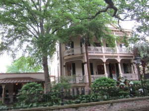 A wealth of historic houses line Savannah streets and squares