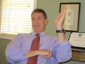 Daniel Carey, CEO of the Historic Savannah Foundation