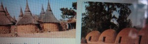 Traditional African dwellings have all kinds of  exotic shapes