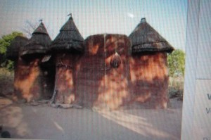 In Africa, traditional buildings made of local materials take all kinds of interesting shapes